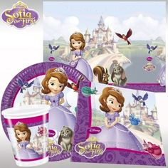 Sofia The First Party Pack For 8 | Sofia The First Party Supplies  kids-partyshop.co.uk