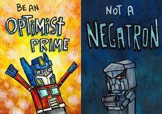 I'm a total Negatron....