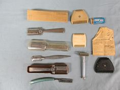http://www.ebay.com/itm/Vtg-Lot-Of-Combs-And-Razors-Shaving-Items/401409996944?hash=item5d75e67890:g:yR0AAOSwhQhY5YYm