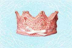 Ravelry: Ariel Princess Crown pattern by Paloma Perez Crochet Crown, Crochet Baby, Knit Crochet, Ariel Princess, Princess Crowns, First Birthday Crown, Crochet Photo Props, Crown Photos, Crown Pattern