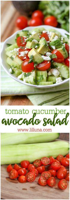 Tomato Cucumber Avoc