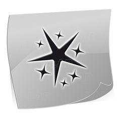 ST7524 Klebeschablonen - LENZ art products - Kreativ von A-Z Nailart, Logos, Fictional Characters, Products, Sparkling Stars, Ring Finger, Creative, Logo, A Logo