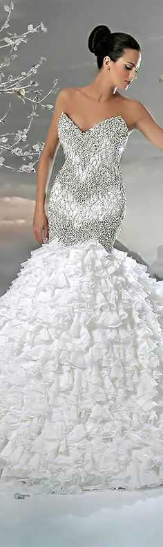 See more about wedding dressses, weddings and dresses. Types Of Wedding Gowns, White Wedding Gowns, Wedding Dress Styles, Wedding Attire, Wedding Bride, Ball Gown Dresses, Bridal Dresses, Wedding Dressses, Glamour