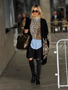 Pin for Later: Fearne's Fashion Parade: Everything Ms Cotton's Worn to Work in 2014 Fearne Cotton Street Style — October 2014