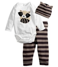 H & M for Baby Racoon. (7/2013)