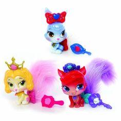 Disney Princess Palace Snow White, Ariel and Belle Pets Furry Tail Friends Plush Puppet, 3-Pack, Amazon Prime $19.99