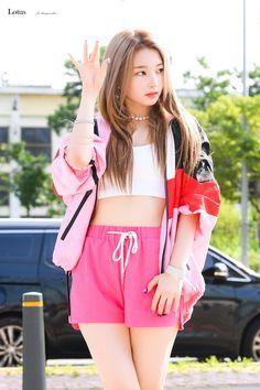 Photo album containing 20 pictures of Yeonhee Kpop Girl Groups, Korean Girl Groups, Kpop Girls, Strawberry Hair, Pink Punch, Fandom, Woollim Entertainment, Pop Group, South Korean Girls
