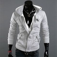 e0b353ca16 Willstyle Men s Special Hoodie Jacket Coat Men Clothes Cardigan Style  Jacket Hooded Cardigan Mens