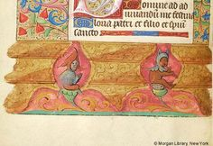 Book of Hours, MS M.276 fol. 42v - Images from Medieval and Renaissance Manuscripts - The Morgan Library & Museum