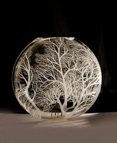 Homeland by Kayo Yokoyama. WOW! Love the trees! The frosting the bowl....yeah the entire concept. LOVE!