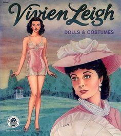 Vivien Leigh, Borboleta Azul: Bonecas De Papel