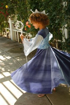 Blue Appleblossom dress