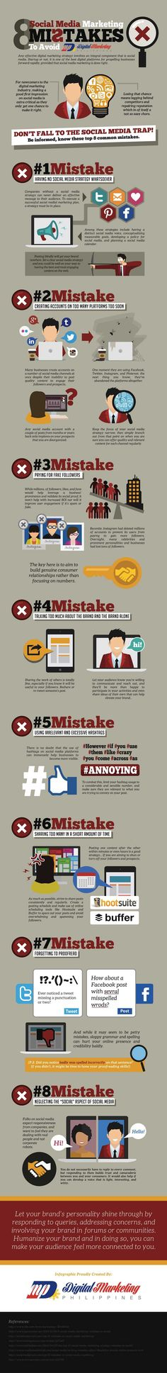 Social Media Marketing new marketers or business owners continue to make rookie mistakes. Choosing platforms messages carefully maximize impact.