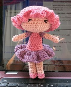 Ravelry: Flossy Doll pattern by Mrs Craftypants