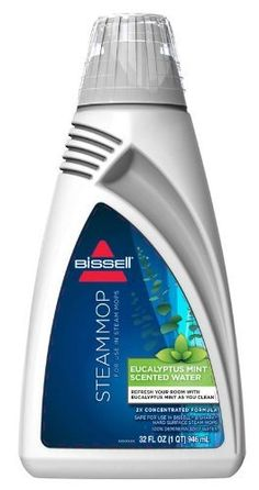 Bissell Citrus Demineralized Water For Steam Mops (Set of Pet Odor Eliminator, All Natural Cleaners, Kirby Vacuum, Steam Mop, Canister Vacuum, Steam Cleaners, Carpet Cleaners, Deep Cleaning, Vacuums