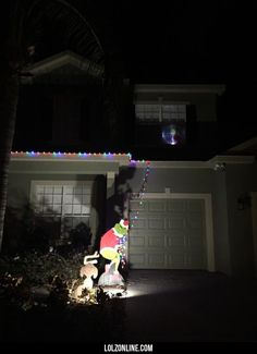 I was inspired to be lazy and not put up all my Christmas lights#funny #lol #lolzonline
