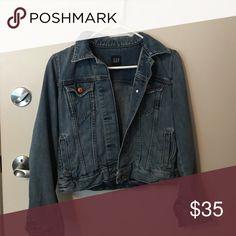 Gap jean jacket Size small Gap jean jacket GAP Jackets & Coats Jean Jackets