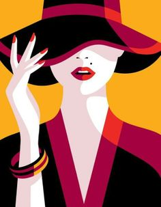 Malika Favre: Illustrations full of color and simplicity!- Malika Favre: Ilustraciones llenas de color y simpleza! Malika Favre: Illustrations full of color and simplicity! Arte Pop, Malika Fabre, Vogue Japan, Grafik Design, Vector Art, Hat Vector, Illustrators, Fashion Art, Trendy Fashion