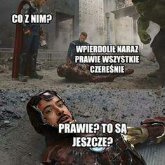 Very Funny Memes, Haha Funny, Hahaha Hahaha, Polish Memes, Funny Mems, Avengers Memes, Daily Memes, Marvel Cinematic Universe, Edgy Memes