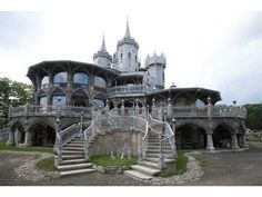 House #1 is for sale...for $45 millions. Interested? Who doesn't want a Goth castle.