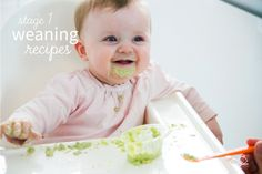 Our Stage 1 Weaning Guide is perfect for any parents beginning to wean their babies from 5 ½ months.