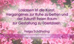 Ein großes Thema: Loslassen! Lese mehr: http://www.lebeblog.de/leben/vergangenheit-loslassen/