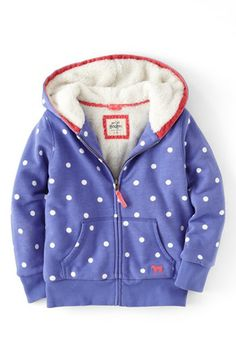 Mini Boden 'Shaggy' Lined Jacket (Toddler Girls, Little Girls & Big Girls) | Nordstrom $60