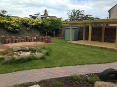 Maisie's Garden - incredible ECE outdoor environment for all age levels - in UK