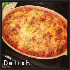 Ground Turkey Casserole {3.27.13} - THE SMALL THINGS