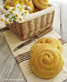 Chiocciole di pane con farina gialla di Storo e pasta madre e1017fc7c423