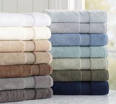 PB Classic 820-Gram Weight Bath Towels   Pottery Barn