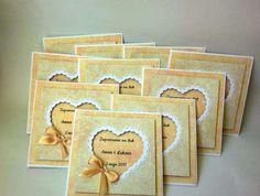 Zaproszenia ślubne, urodzinowe ręcznie robione, handmade Szczecin - image 1