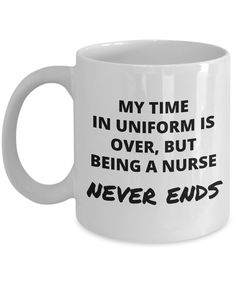 My time in uniform is over but being a nurse never ends
