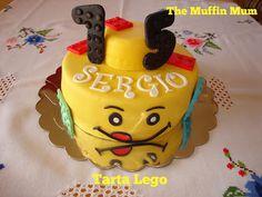 The Muffin Mum: Tarta Lego