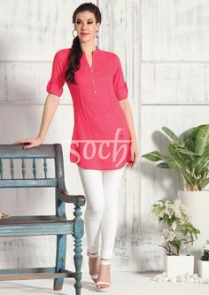 #Soch #TrendyTunics is some bold colors #SochStyle