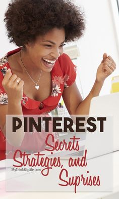 By using my Pinterest secrets and strategies, I grew the traffic to my blog by 4400% in 7 months, from monthly page views of less than 800 to over 36,000. If Pinterest isn't sending a significant amount of traffic to your blog, read here to learn the Pinterest secrets and strategy that grew my blog in just a few months.