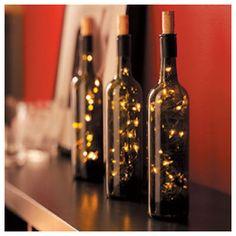 Ιδέες Για Φωτιστικά Από Γυάλινα Μπουκάλια / How To Use Old Bottles For…