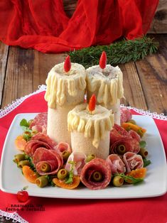 Antipasto, Party Food Platters, Xmas Food, Cannoli, Food Humor, Cute Food, Finger Foods, Food Art, Italian Recipes