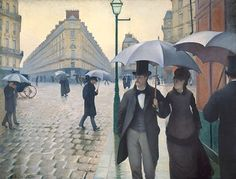 Gustave Caillebotte : Paris, un jour de pluie