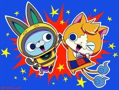 Youkai Watch, Watch 2, Videogames, Pikachu, Horror, Geek Stuff, Kawaii, Fan Art, Japan
