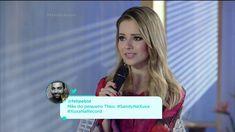 Papo Reto: Xuxa relembra entrevista que fez quando Sandy tinha 16 anos