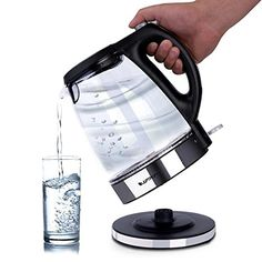 Image of product result Kettle, Home And Garden, Kitchen Appliances, Led, Electric, Glass, Sushi, Ebay, African