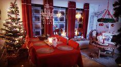 My living room .  Mitt tvrum  ❤. Love christmas 🎅. Älskar julen 🎅 #jul #Christmas  #diy #inredning #interior #design #pynt #dekoration #tips #santa #tomten #christmastree #julgran #followme #följmig #home #hem