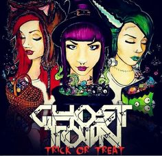 Trick Or Treat - Ghost Town
