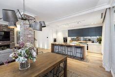 The Block 2016 - Week 8 Kitchen Reveals Kitchen Dinning Room, Kitchen Living, Kitchen Decor, Dining, The Block Kitchen, The Block 2016, Living Room Designs, Living Spaces, Timber Kitchen