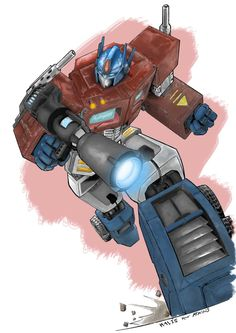 Optimus Prime Transformers -c by ~h4125 on deviantART