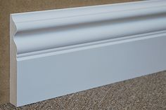 "4 5⁄8"" Baseboard Molding - Primed MDF - $2.50 / Foot  http://www.wainscotingamerica.com/design-order/baseboard-molding.php"