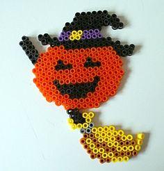 Halloween hama beads pumpkin