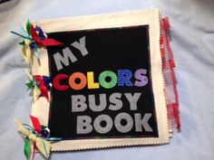 My Colors Busy Book