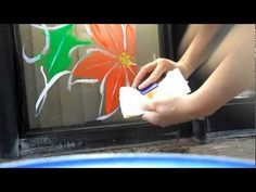 Burguess was really helpful when I started this business, now I am happy to share her tips with you :) Painted Window Art, Window Paint, What Is The Secret, House Of Cards, Window Cleaner, Tempera, Christmas Art, Art Techniques, Modern Art